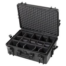 Waterproof XL Protective Hard Camera Case + Padded Moveable Foam Planks