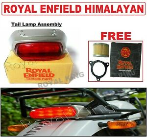 """Royal Enfield Himalayan """"Tail Lamp Assembly"""" With Free One Oil Filter"""
