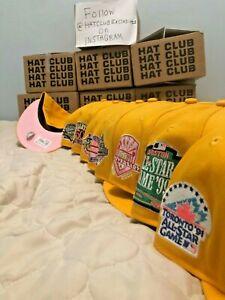 Hat Club Exclusive Pink Lemonade Pink Brim UV New Era 59Fifty Fitted MLB