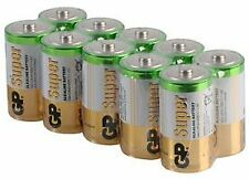 Batería Alcalina C 1.5 V PK10 baterías no recargables-CM88860