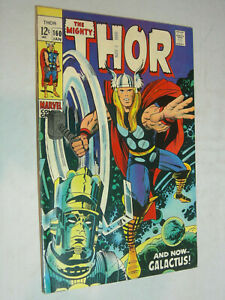 The Mighty Thor #160 VG/F and now Galactus LOOK