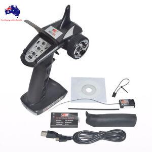 Flysky GT2B 3 CH Channel 2.4Ghz Radio Control System RC Transmitter w/ Receiver