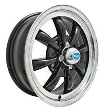 EMPI GT-8-Spoke EMPI  5.5 X 15 GLOSS BLACK  wheel VW bug Type 1 2 3 ,4-130
