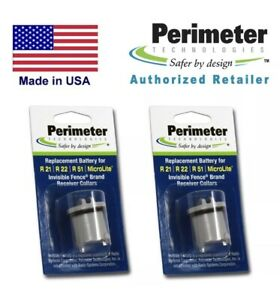 2 Pack Perimeter IFA-001 Battery Invisible Fence - R21 R22 R51 MicroLite PetStop