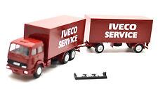 Herpa 1:87  Fiat Iveco Koffer-Lastzug / Iveco Service