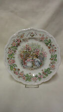 Jill Barklem Royal Doulton Brambly Hedge Collector Plate - Summer