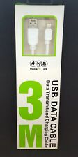 3M Lightning Sync & Charger USB Data Cable For Apple iPhone 6 5 7 iPad Air