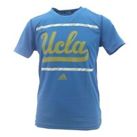 UCLA Bruins NCAA Adidas Climalite Kids & Youth Size Athletic T-Shirt New Tags