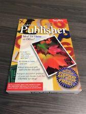 Stepway Desktop Publisher For Windows PC Software Multimedia TJF816 Very Good