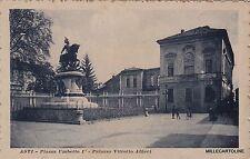 # ASTI: MONUMENTO UMBERTO I E CASA VITTORIO ALFIERI  (2)