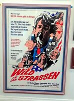 WILD IN THE STREETS VINTAGE 1968 CULT MOVIE POSTER SHELLEY WINTERS RICHARD PRYOR