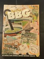 DERBY COUNTY - OFFICIAL - BYE BYE BASEBALL GROUND -  1996/97 - SOFT COVER - VGC