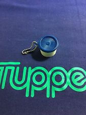 Vintage Tupperware Servalier Canister Keychain New Old Stock Gadget