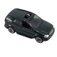 """Matchbox 1999 Green Mattel 1:64 2.75"""" Long Diecast Mercedes Benz ML 430 Car Toy"""