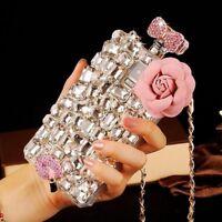 Handmade Bling Crystal Diamond 3D Perfume Bottle Case Cover For iPhone XS 8 Plus