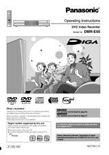 Panasonic DMR-E55 DVD Recorder Owners Instruction Manual