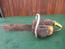 """Vintage McCULLOCH 10-10 AUTOMATIC Chainsaw Chain Saw with 15"""" Bar"""