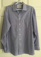 ROUNDTREE & YORKE GOLD LABEL Non Iron  EZ Wash Cotton Dress Shirt fitted 16 /33