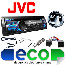 Vauxhall Astra G MK4 99-04 JVC Stereo Auto Bluetooth CD MP3 AUX USB UPGRADE KIT