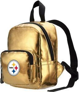 NWT NFL Pittsburgh Steelers Spotlight Women's Backpack Gold