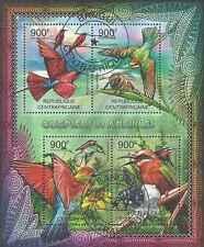 Timbres Oiseaux Centrafrique 2340/3 o année 2012 lot 15969 - cote : 20 €