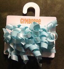 New Gymboree Aqua Hair Clips