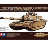 Tamiya 35274 British Main Battle Tank Challenger 2 (Desertised) 1/35