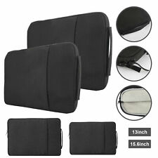 """13"""" 15.6"""" Laptop Carrying Sleeve Case Bag For Lenovo Hp Acer Dell Apple MacBook"""