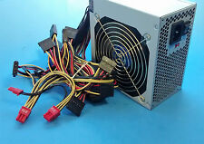 750W 2x PCIe Gaming PC Silent 120mm Gold Fan Grill Power Supply ATX 24/8 pin 12v
