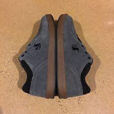 DVS Endeavor Size 10 US Grey Suede BMX DC Skate Shoes Sneakers Argon Vaporcell