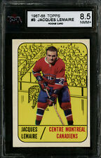 1967-68 TOPPS~#3~JACQUES LEMAIRE~HOF RC~MONTREAL CANADIENS ~KSA 8.5 NM-MT+