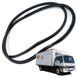 Front Left Weatherstrip Door Rubber Seal Black Fits Hino Hithech 1989 - 2002