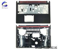 New For Dell Inspiron 15 7000 7557 7559 Upper Case Palmrest & Bottom Case Cover