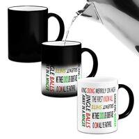 Christmas Sayings Funny/Swear/Rude Novelty Heat Colour Changing Mug