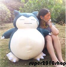 """32"""" Giant Snorlax Plush Toy Kabigon OA Doll Pokemon GO Pillow Soft Kid Gift 80CM"""