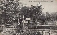 Postcard Lake at Camp Grounds Moundsville West Virginia