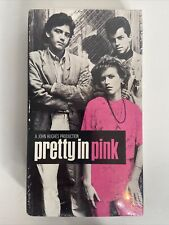 Pretty in Pink VHS Brand NEW Factory SEALED Molly Ringwald Andrew McCarthy