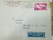 O) 1956 ITALY, VISIT PRESIDENT OF NEGLI TO CANADA, HANDS,CENSORSHIP,  AIRMAIL TO