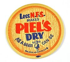 Piel'S Dry Less N.pers. USA Birra Sottobicchieri di 1950'er