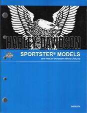 2018 Harley-Davidson Sportster Models Part Parts Catalog Manual Book 94000574