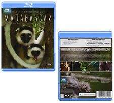 MADAGASCAR (2010): DAVID ATTENBOROUGH inc. GIANT EGG - BBC TV Series NEW BLU-RAY