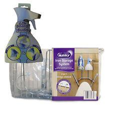 Minky Cromo Soporte De Hierro sistema de almacenamiento con tablero Buddy Planchado Botella de Spray