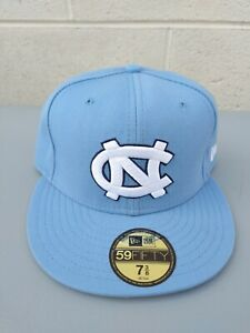 NEW ERA NORTH CAROLINA TARHEELS FITTED SZ 7 3/8 UNC JORDAN 1 4