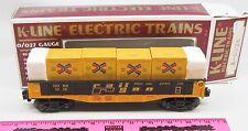 K-Line K-6528 Gonx 6528 rail nation wide gondola with canister