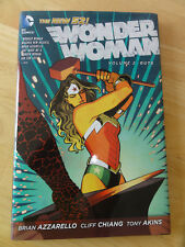 Guts by Brian Azzarello (2013, Hardcover), Wonder Woman, Vol. 2