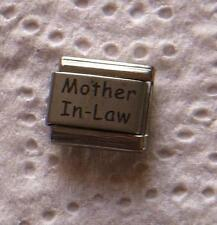 """""""MOTHER IN-LAW """" 9MM ITALIAN CHARM-MOM, FAMILY, HUSBAND'S MOM, MOM OF WIFE"""