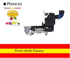 CONECTOR FLEX CARGA + MICROFONO + ANTENA PARA IPHONE 6S GRIS