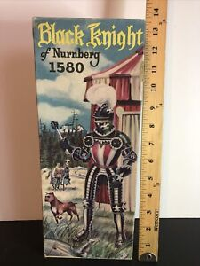 1956 Aurora Black Knight Of Nurnbery #1580 With Original Box ~RARE YEAR~