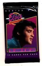 1992 Elvis Presley Collection Series 1 Trading Card Packs (2)