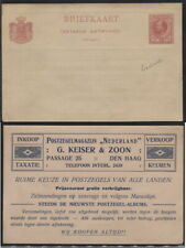 NETHERLANDS SURINAME - stamp dealer reprinted PC stationery unsed. Very fine